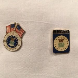 Other - U.S Air Force hat pins